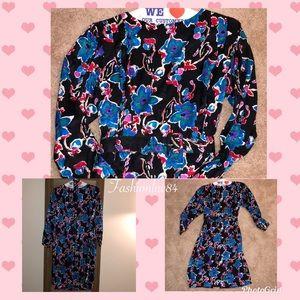 Argenti Pure Silk Floral Dress
